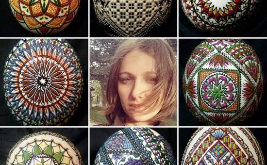 Ecaterina Savițchi - Vreau să transform oul încondeiat într-un suvenir de calitate