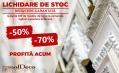 Lichidare de stoc cu reduceri de -70%!