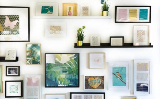 Idei și soluții de aranjare a tablourilor pe pereți
