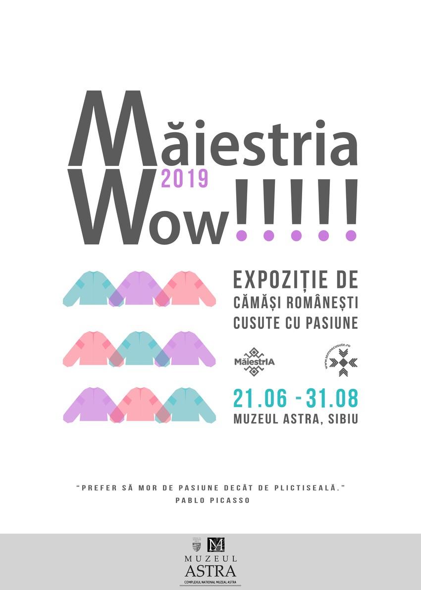Expoziția MăiestrIA 2019 va avea loc la Sibiu