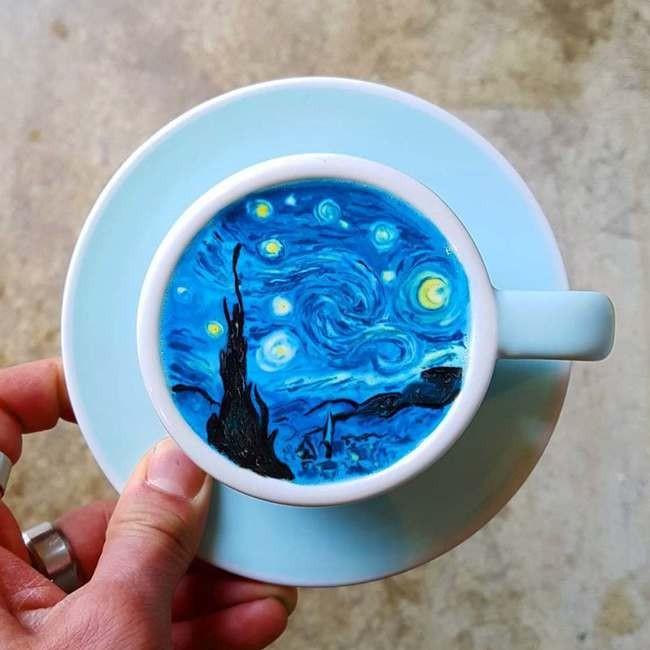 Arta cafelei