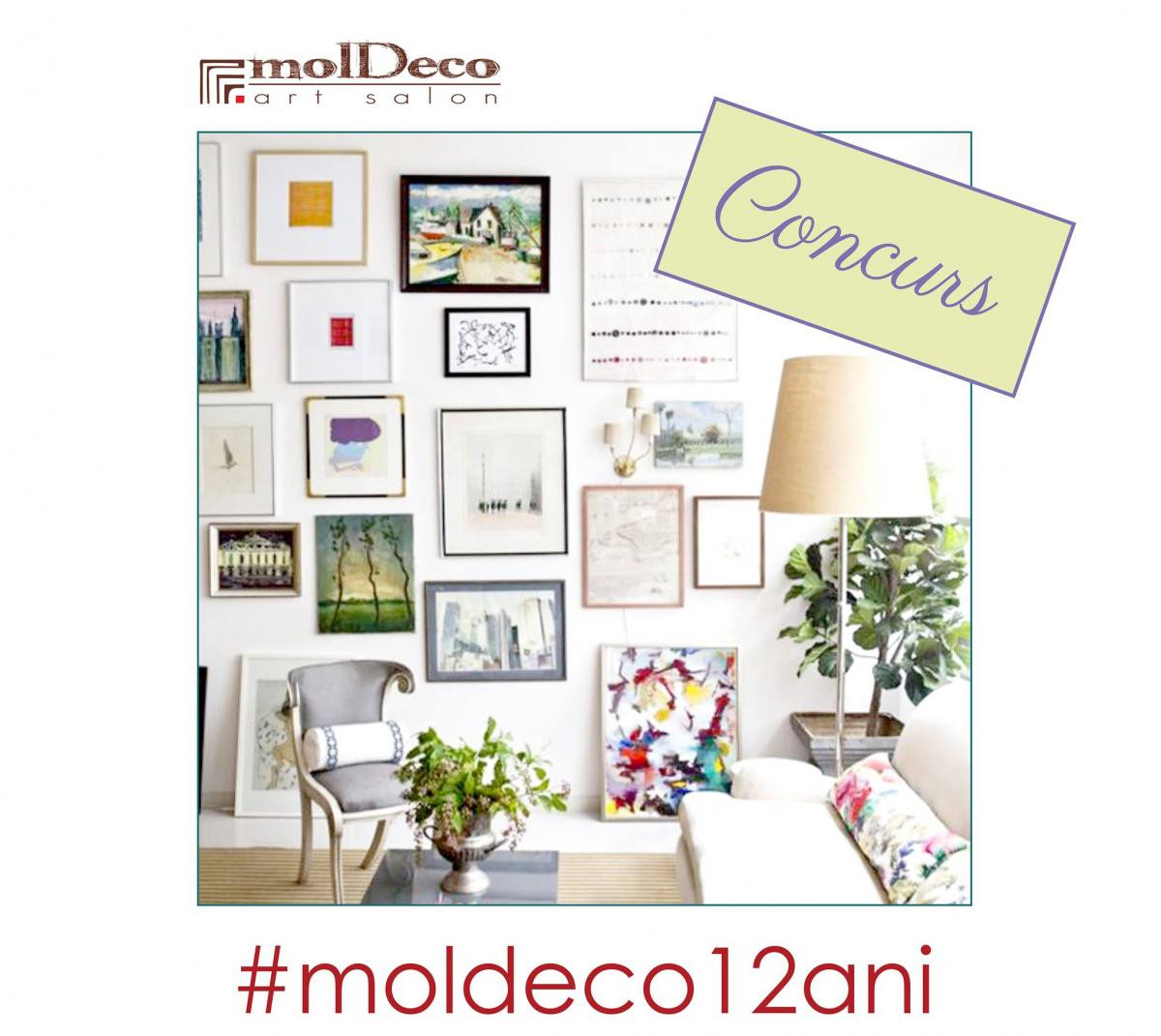 CONCURS! #MOLDECO12ANI